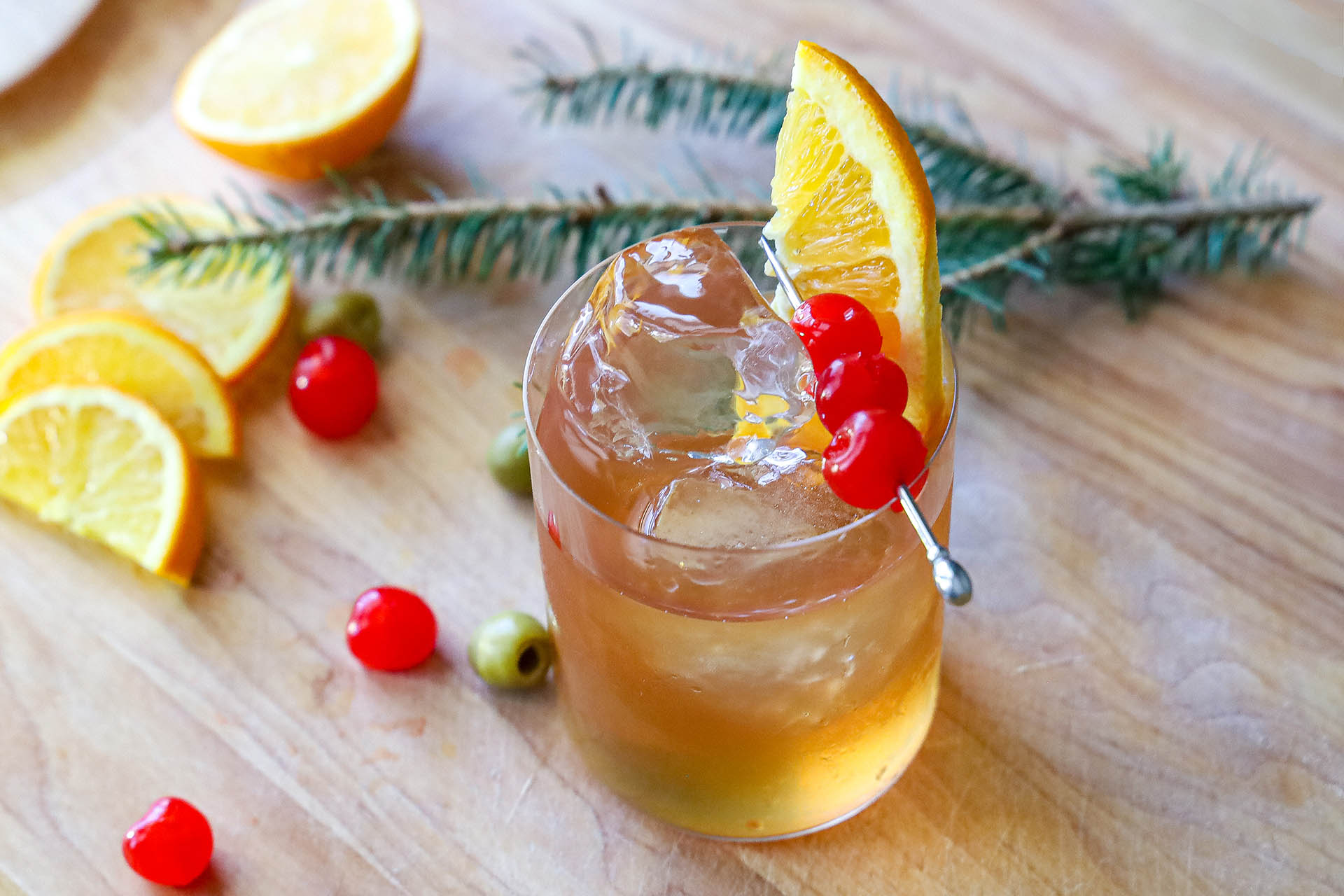 The Wisconsin Old Fashioned Cocktail Recipe photo