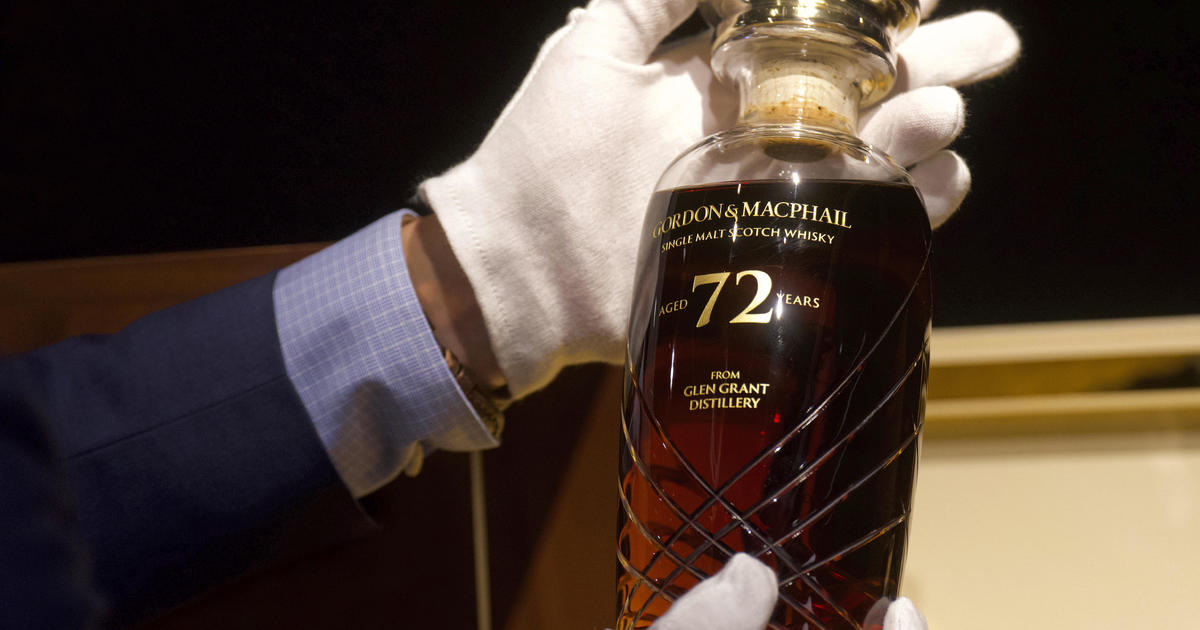 72-year-old Bottle Of Whisky Fetches Over $54,000 In Auction photo