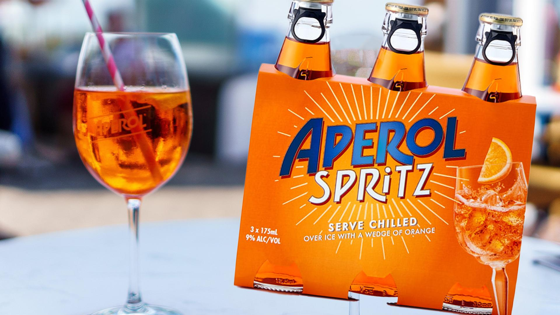 You Can Now Get Aperol Spritz In Ready-to-drink Bottles, So Hello Summer Days! photo