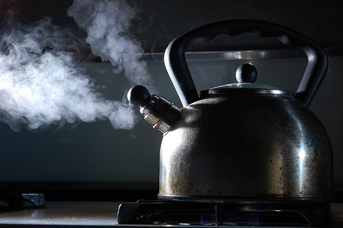 Why Reboiling Water Is Harmful photo
