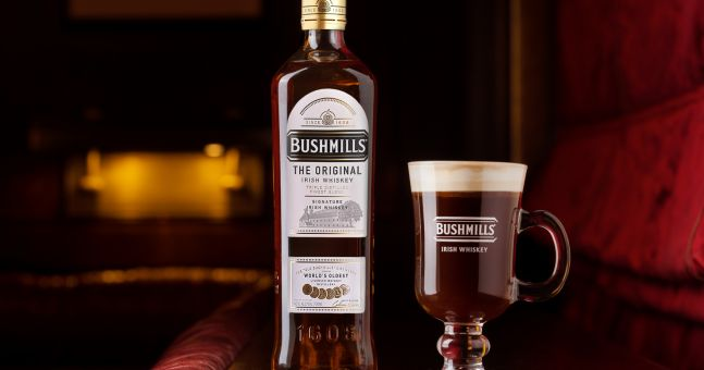 Win: A Bottle Of Bushmills Original & More Bushmills Goodies To Celebrate Irish Coffee Day photo