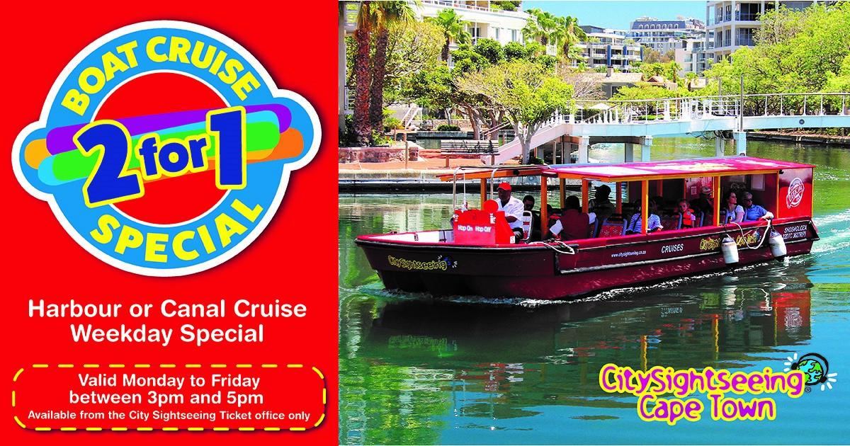 City Sightseeing 2 For 1 Harbour Or Canal Special photo