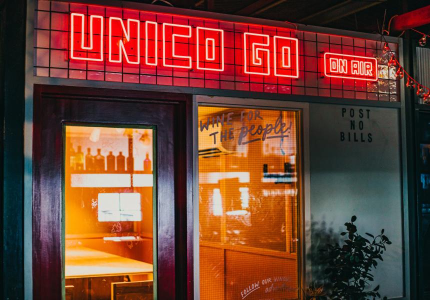 The Unico Zelo Team's Tiny Five-seat Wine Bar (and Podcast Studio) Opens In The Cbd Tomorrow photo