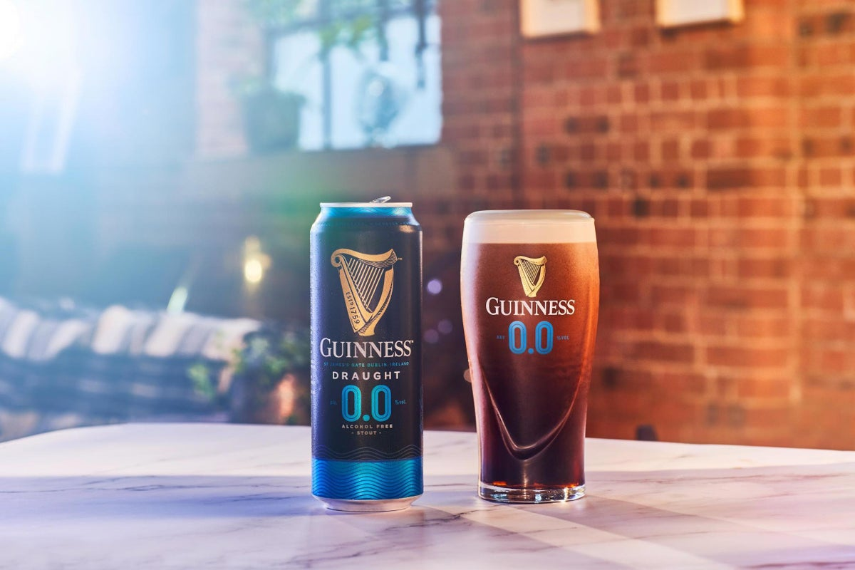 Guinness 0.0 Re-launch In The Works For This Spring, Diageo Reveals photo