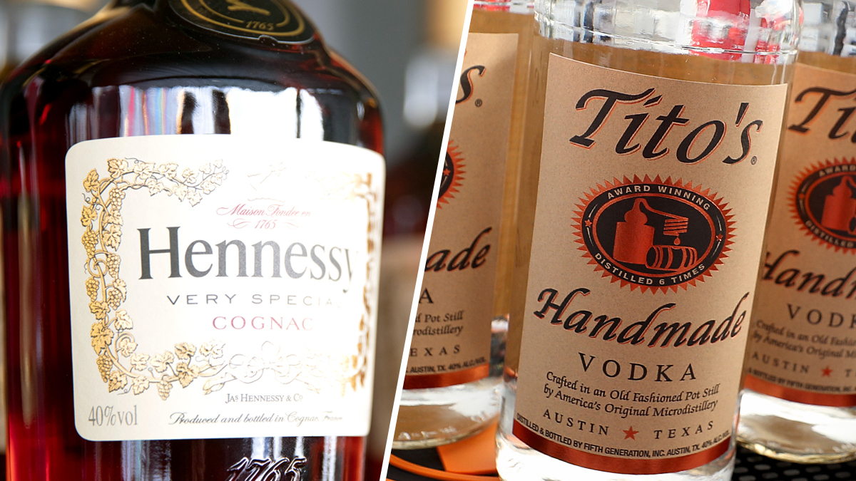 Raise A Glass: Hennessy, Tito's Vodka Top Philadelphia, Suburbs Liquor Sales In 2020 photo