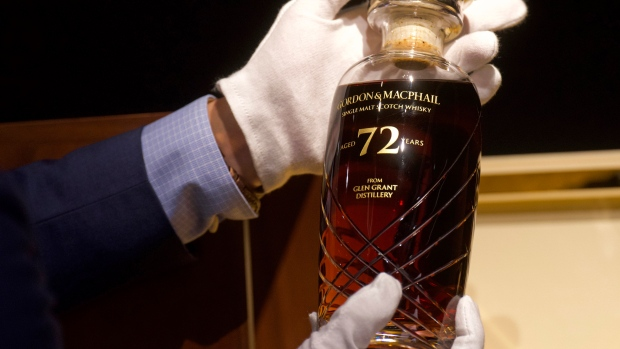 Rare 72-year-old Scotch Whisky To Be Auctioned In Hong Kong photo