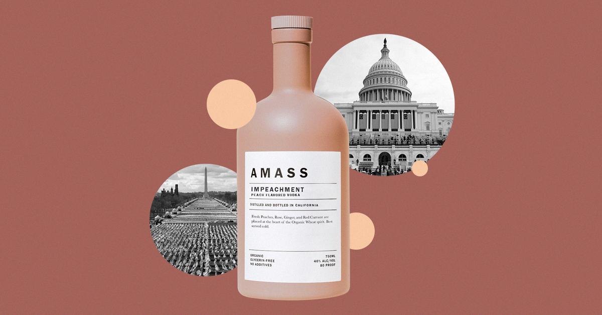 Impeachment Vodka? Make It A Double photo