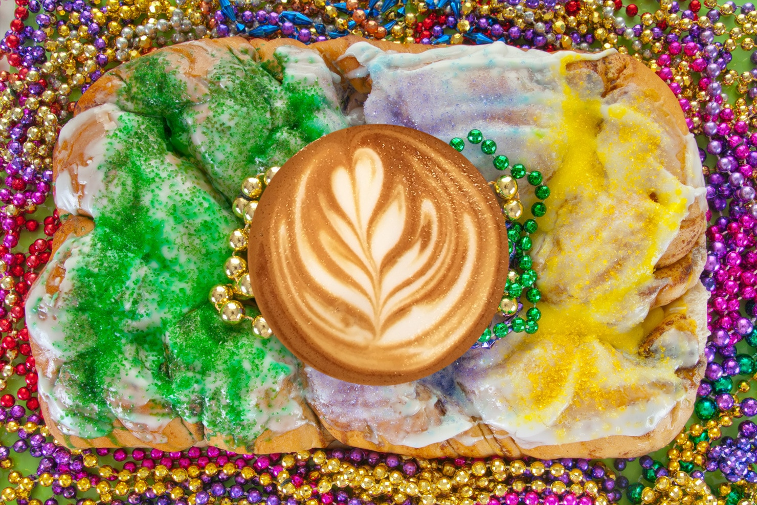 The King Cake Latte Is Incredible—here's How To Make One At Home photo