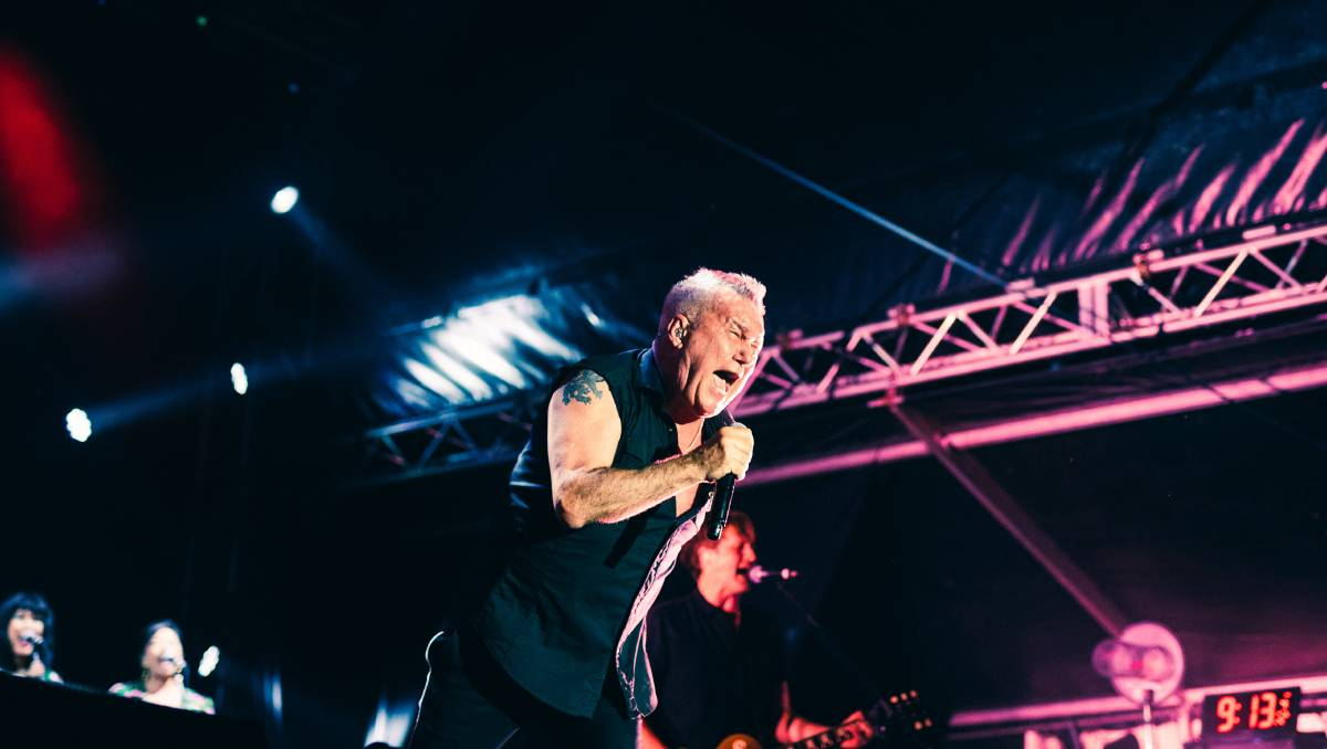 Jimmy Barnes Rocks Wahgunyah With Heart, Soul And A Touch Of Tenderness photo
