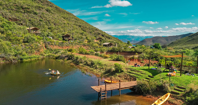 The Best Getaways With Your Own Private Swimming Spot photo