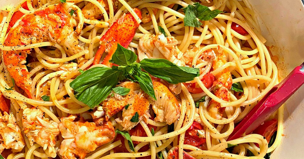 Lobster Spaghetti Is Not Just For Special Occasions photo