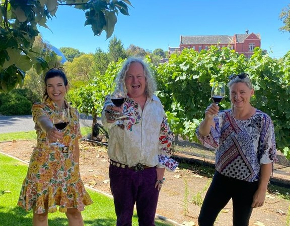 Raise A Glass To Sa Wine photo