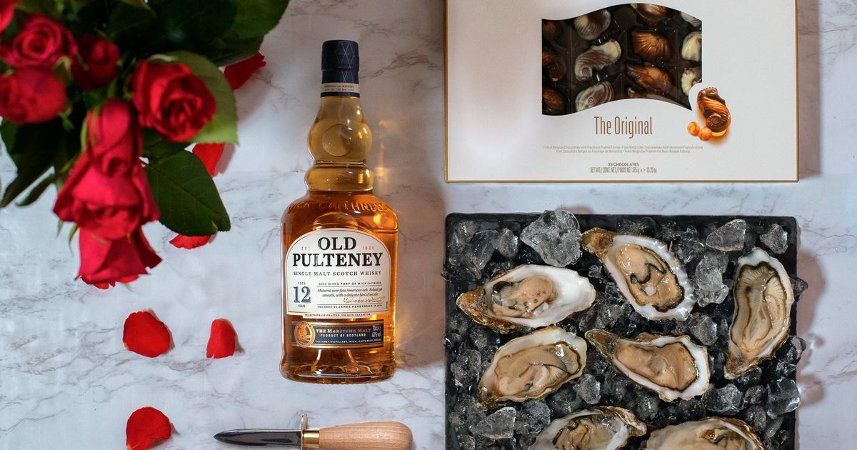 Valentine's Day Oysters And Chocolates 'loved-down Lovers' Pack photo