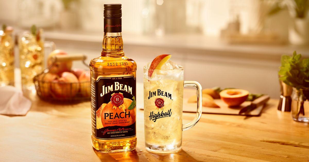 Jim Beam Launches New £18 Peach Flavour Bourbon photo