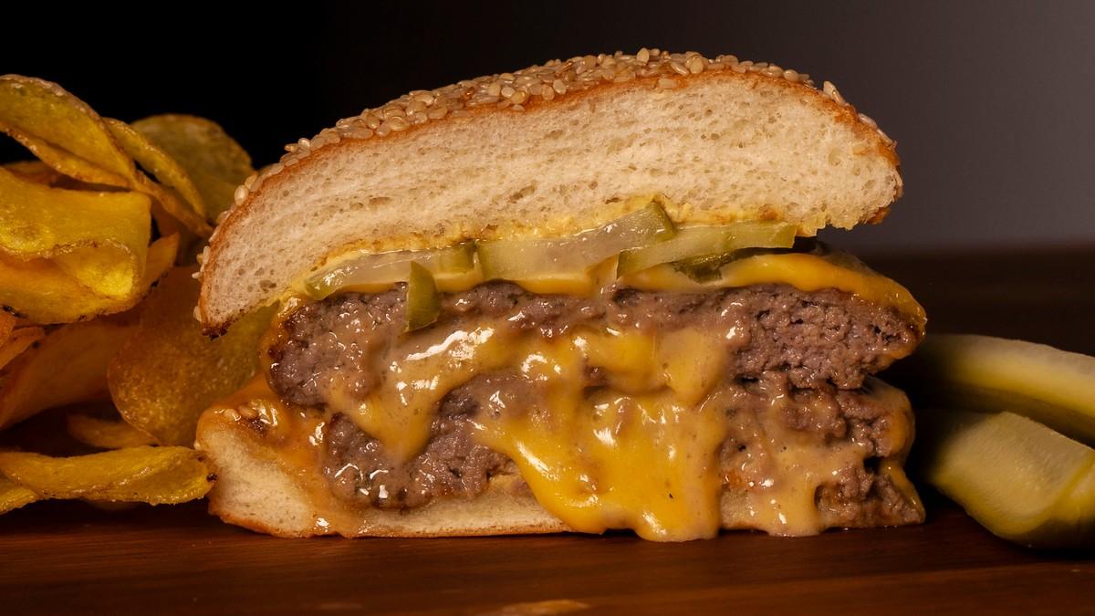 Juicy Lucy Burger Recipe photo
