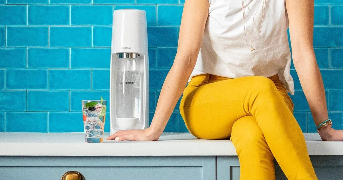 Make Your Favorite Fizzy Drinks At Home With Sodastream photo