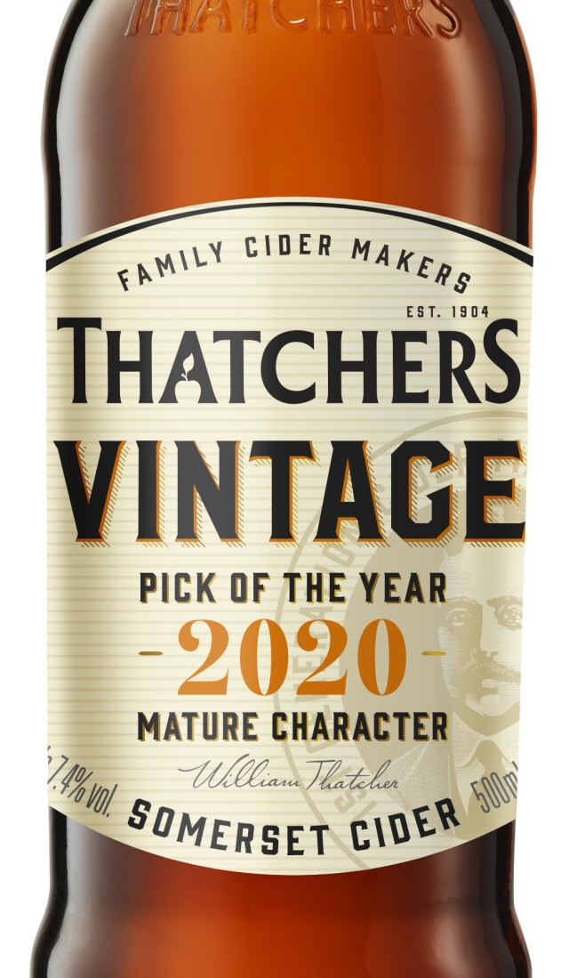 Thatchers Cider Releases Thatchers Vintage 2020 photo