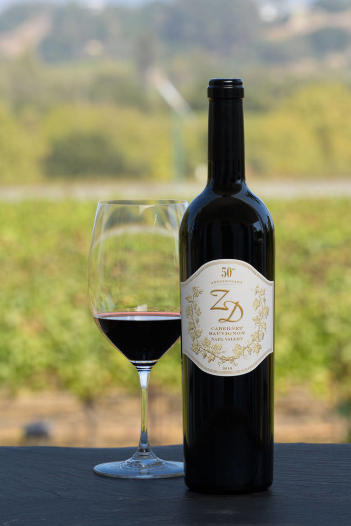 Zd Wines Releases 2018 50th Anniversary Cabernet Sauvignon: A Superb Choice For Every Occasion photo