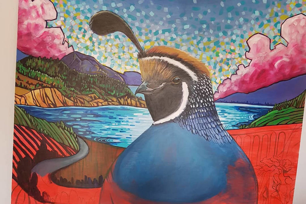 Eight Penticton Artists Selected To Paint 'mini Murals' At Cannery Brewing photo