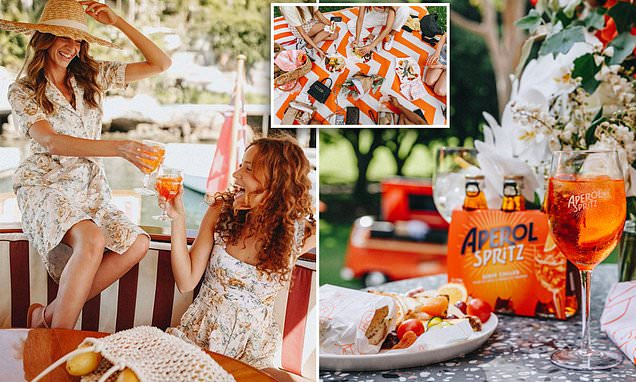 You Can Now Book Catered Picnics With Aperol Cocktails And Charcuterie photo