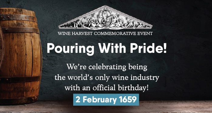 Sa Wine Industry To Mark Sa's 362nd Wine-making Birthday With Free Virtual Event photo