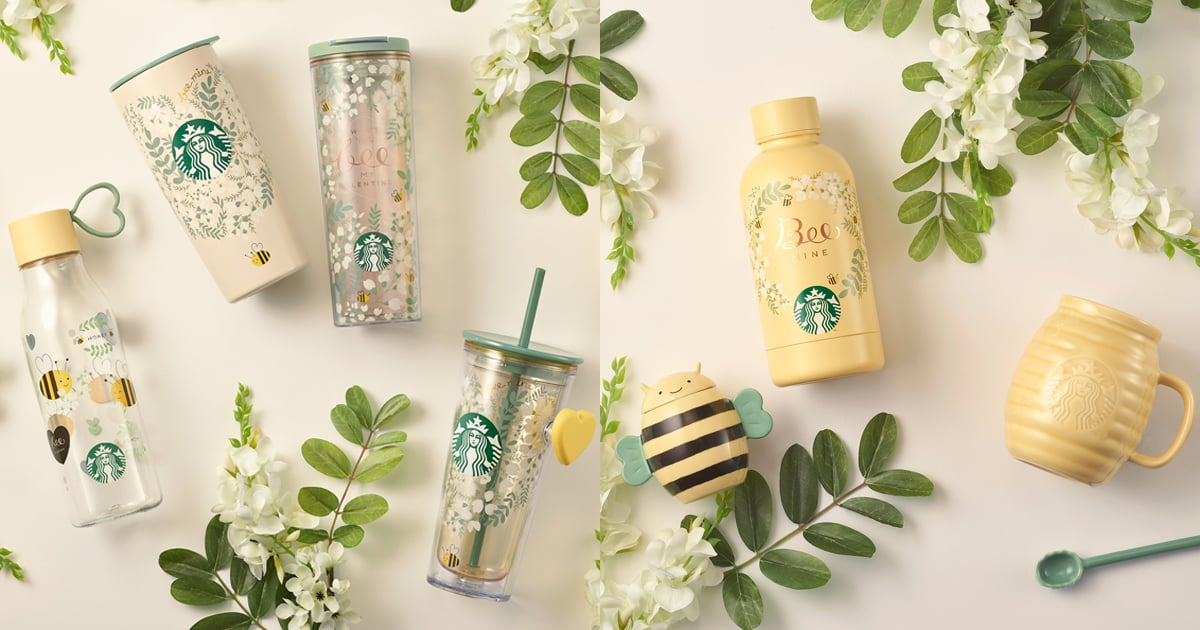 I'm Absolutely Buzzing Over Starbucks Asia Pacific's Bee Mine Valentine's Day Collection photo