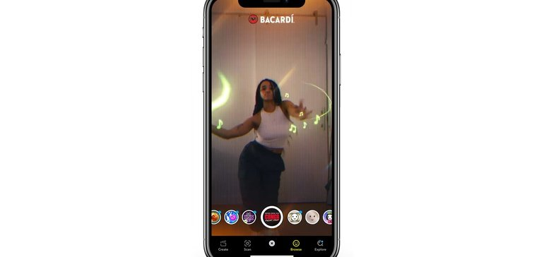 Bacardi Extends 'conga' Remix Push With First-of-its-kind Snapchat Ar Activation photo