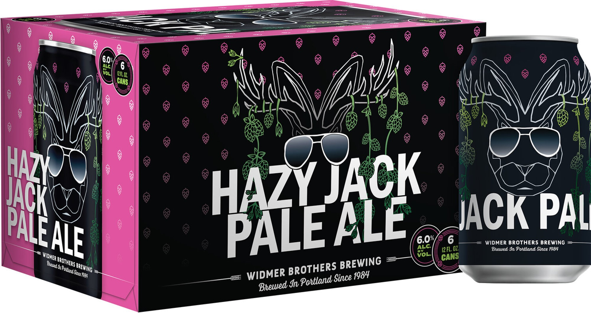 Widmer Brothers Partners With Artist Mike Bennett To Launch Hazy Jack Pale Ale photo