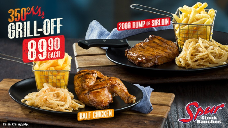 Spur Unleash New Steak & Chicken Specials For Hungry South Africans photo