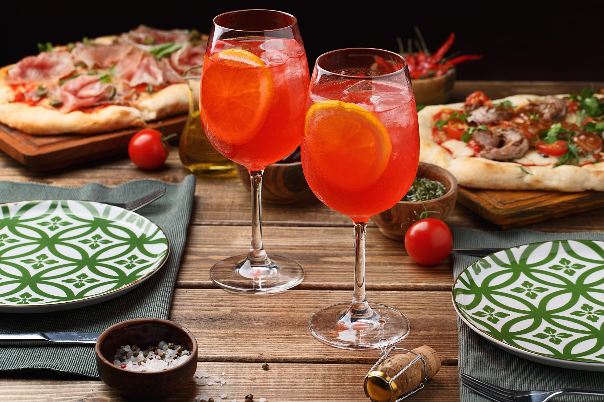 Celebrate From National Pizza Day To Pi Day With Aperol photo