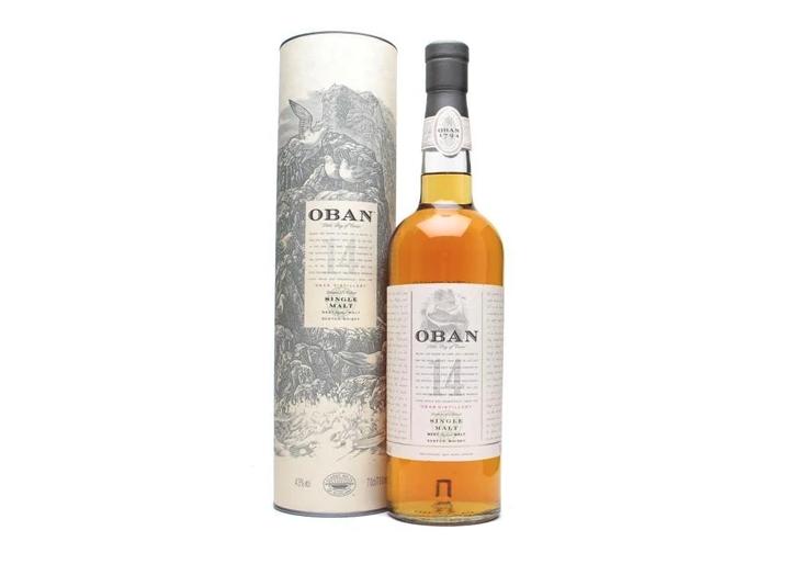 Oban's 14-year Single Malt Scotch photo