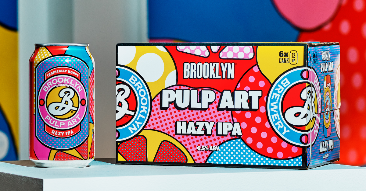 Brooklyn Brewery Prepared For A Repeat Of 2020; Launches Pulp Art Hazy Ipa photo