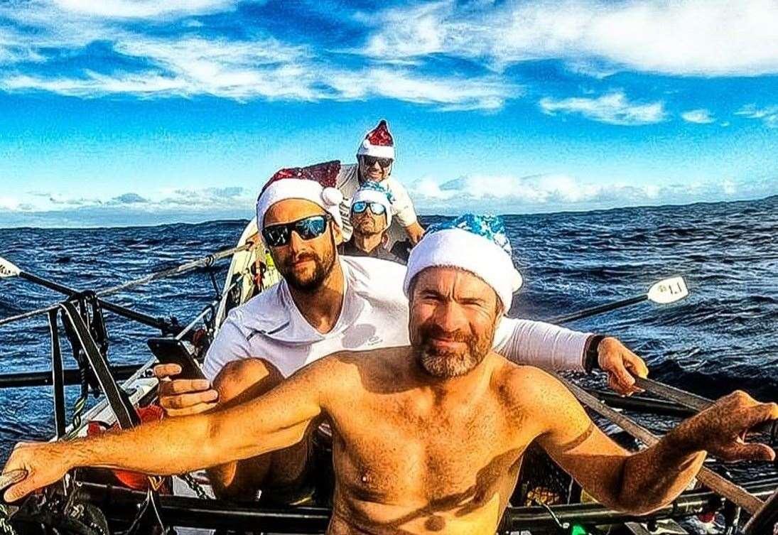 Rowing Novices Complete Epic Atlantic Challenge photo