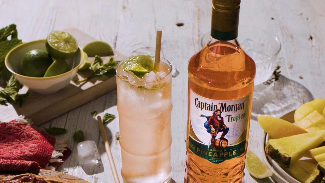 Ahoy-hoy! Captain Morgan Has Sailed In With A Pineapple & Mango Rum! photo