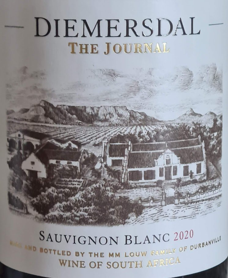 Diemersdal The Journal Sauvignon Blanc 2020 photo