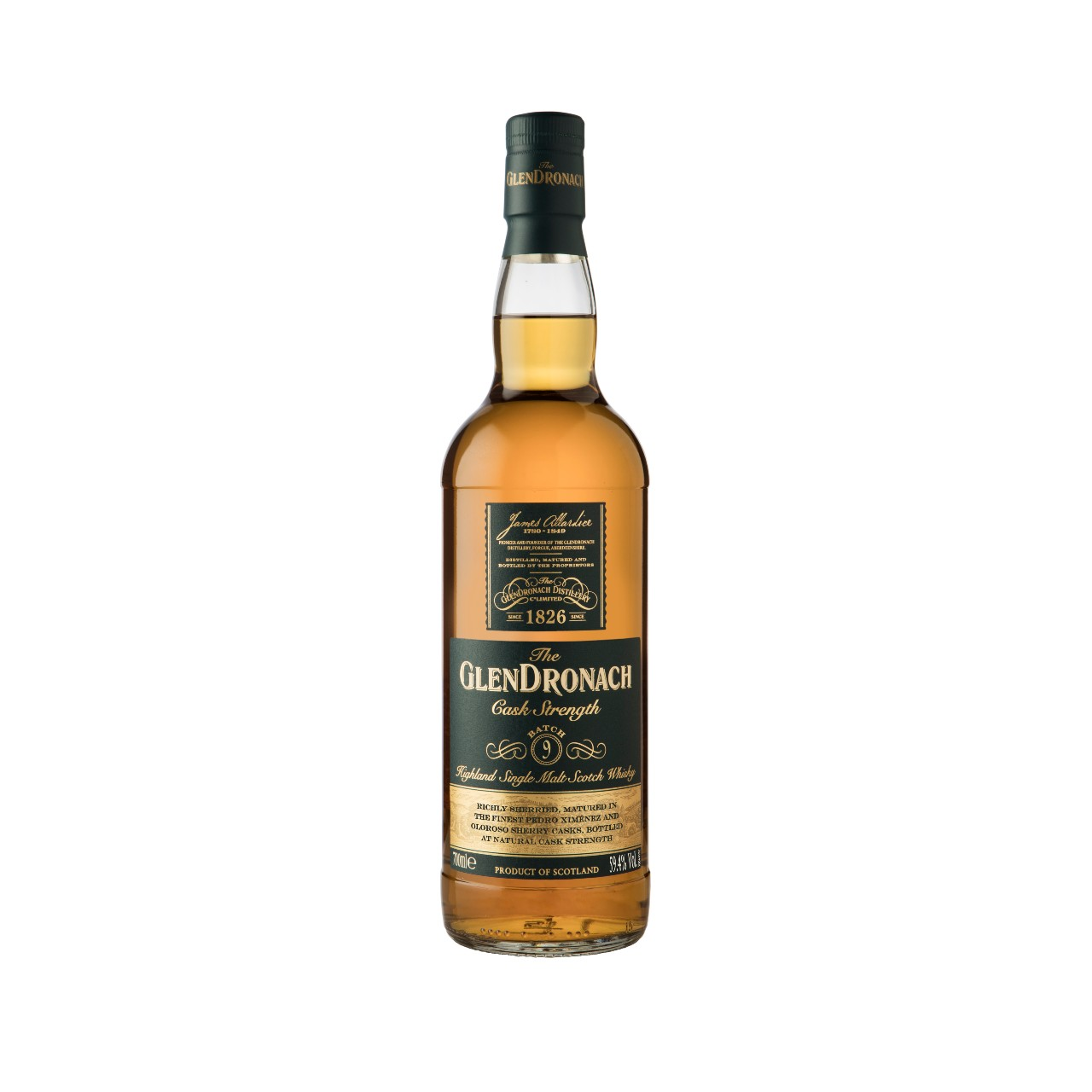 The Glendronach Distillery Releases Ninth Limited Edition Cask Strength Expression photo
