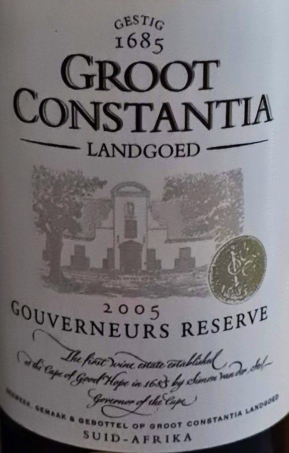 Launch Of Groot Constantia Vintage Vault photo