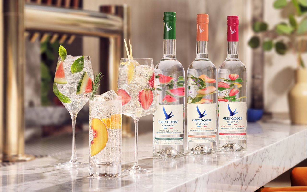 Grey Goose Unveils Vodka Infused With Fruit And Botanicals photo