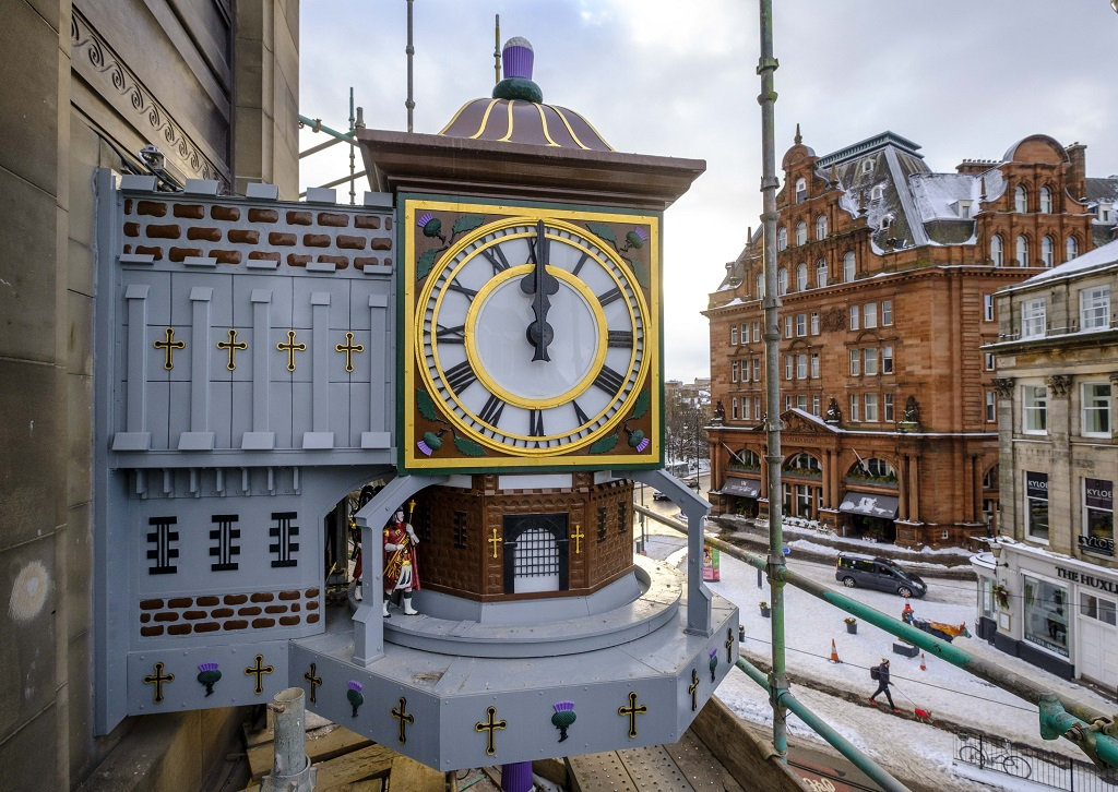 Famous Clock Restored By Johnnie Walker photo