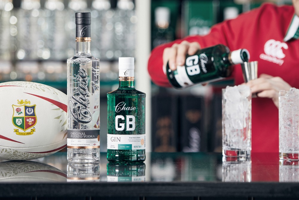Lions Announce Official Partnership With Chase Distillery photo