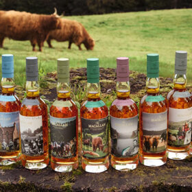 Macallan Unveils Whisky Collection With Blake Artwork photo