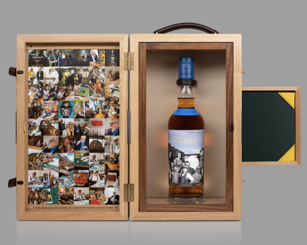 'a Unique Art And Whisky Collaboration': The Macallan Releases Anecdotes Of Ages Collection photo
