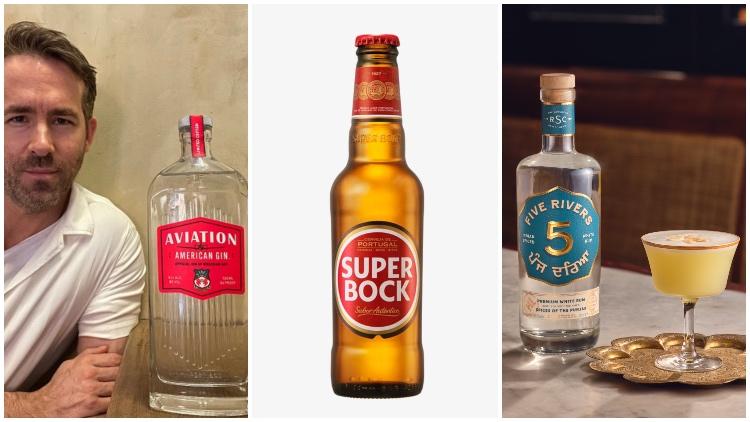 Ryan Reynolds Unveils Wrexham Afc Gin, Super Bock Uk Partnership, 'world's First' Indian White Spiced Rum photo