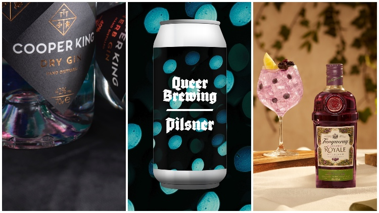 'england's First' Carbon-negative Gins, Queer Brewing Unveils Core Range, Tanqueray Creates Blackcurrant Serve photo