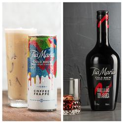 Tia Maria Cold Brew Coffee Liqueur Releases New Bottle Design & Rtd Ic photo