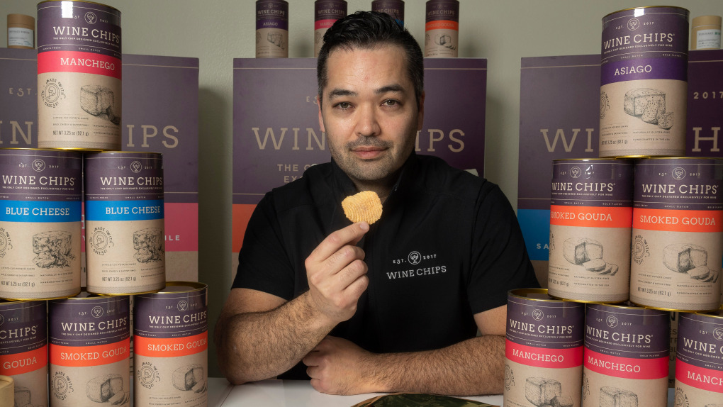 How One Man's Munchies  Led To Wine Chips And $1 Million In Online Orders photo