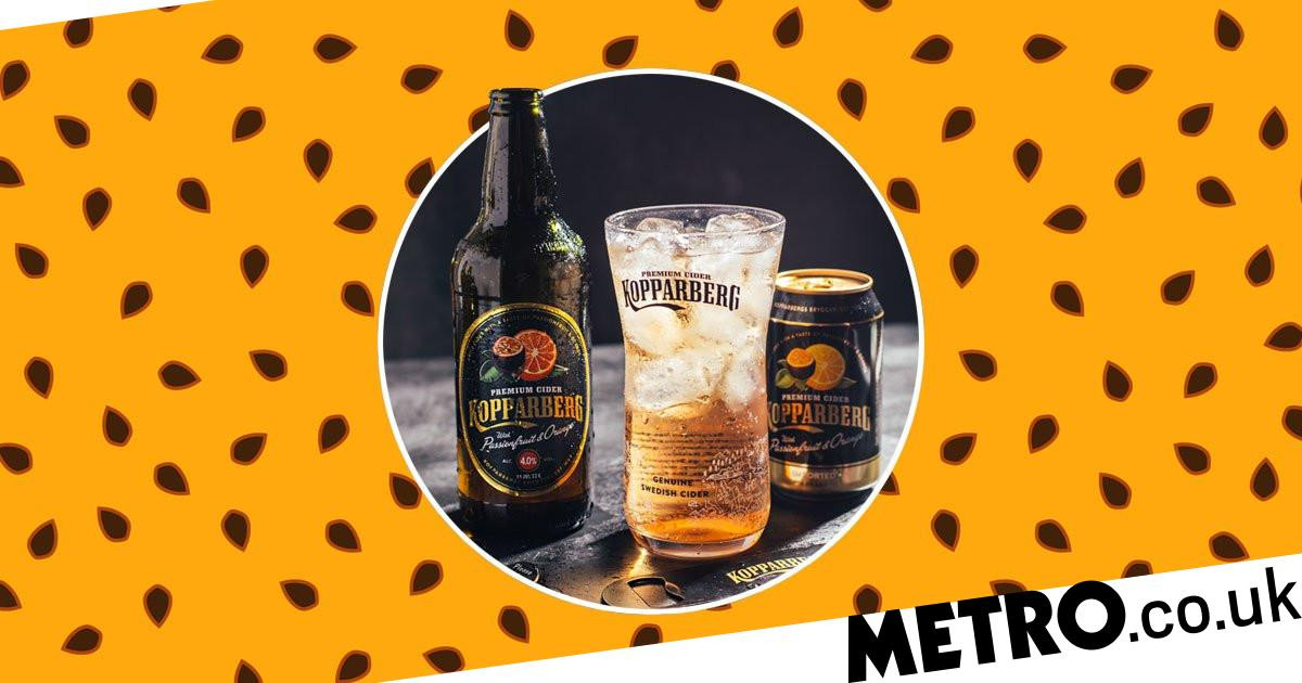Kopparberg Releases New Passionfruit And Orange Flavour Cider photo