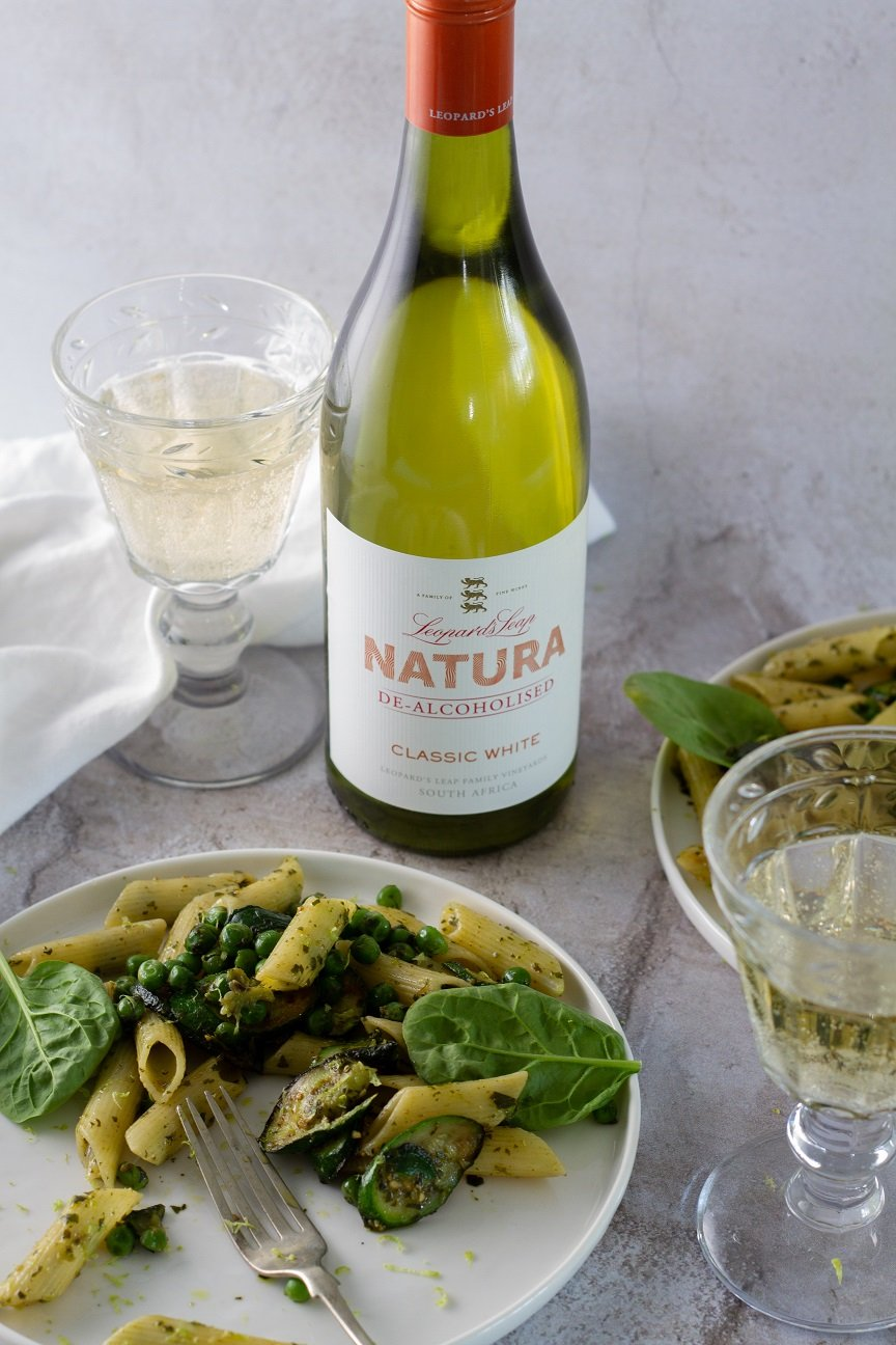 Food In A Minute: Pea And Pesto Pasta photo
