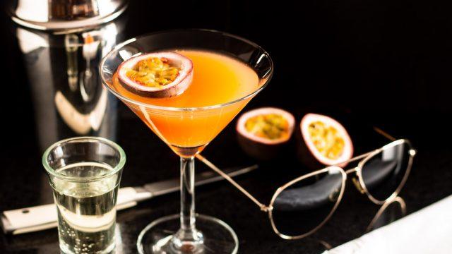 Valentine's Day Cocktail: Pornstar Martini Recipe photo