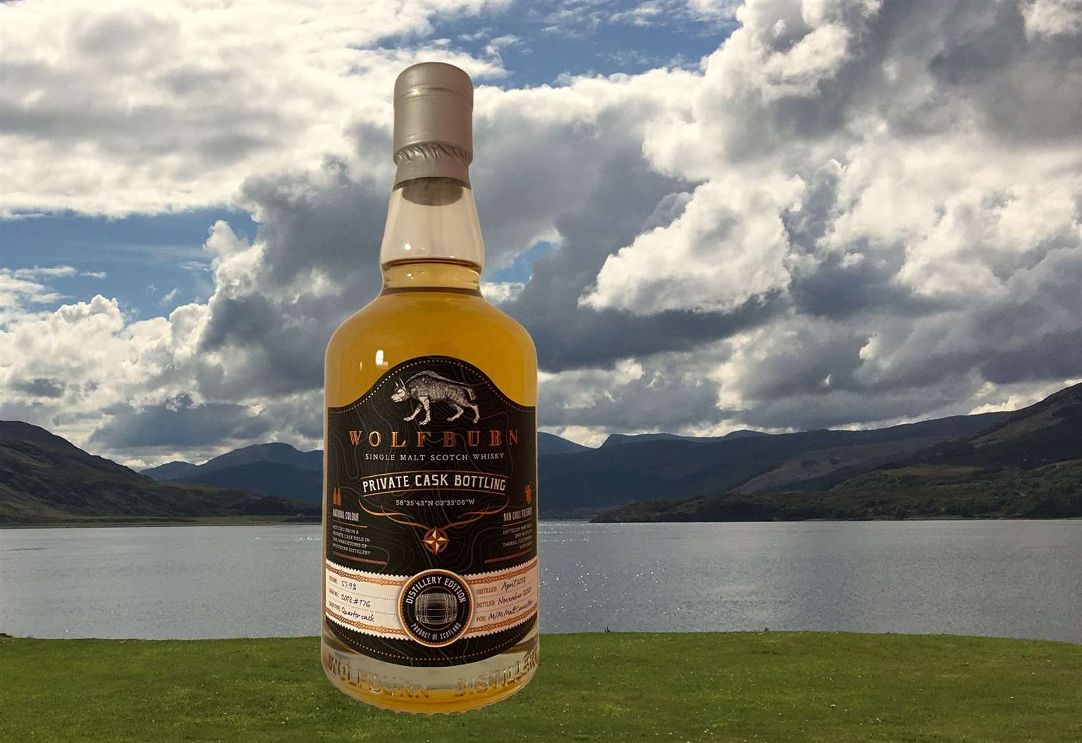 Sale Of Rare Wolfburn Whisky Raises Over £1000 For Thurso Lifeboat photo